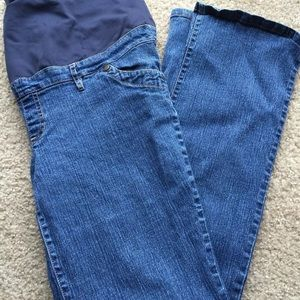 New additions maternity stretch jeans